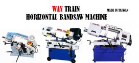 Way Train UE-Series Metal Cutting Band Saw Machine