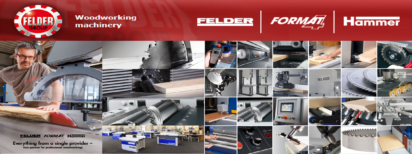 Felder Woodworking Machines
